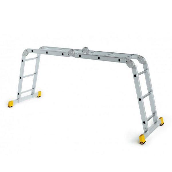 Štvordielny kĺbový rebrík ALVE Forte 1