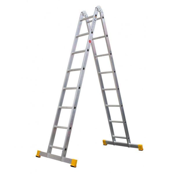 Dvojdielny kĺbový rebrík ALVE Forte