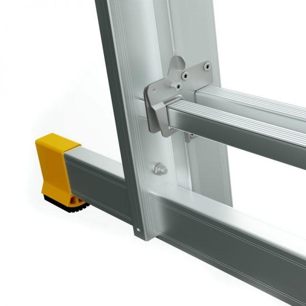 Dvojdielny univerzálny rebrík ALVE Forte stabilizátor