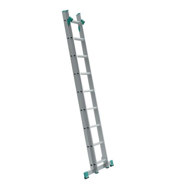 Dvojdielny univerzálny rebrík s úpravou na schody ALVE Eurostyl