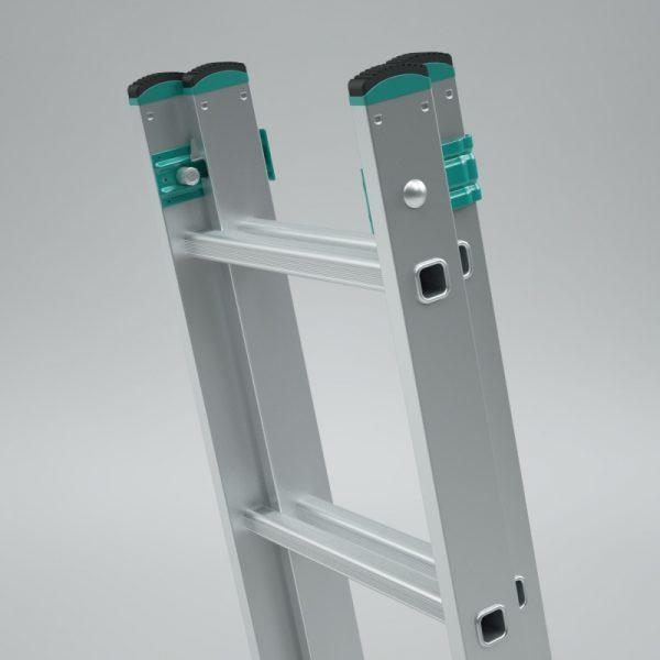 Dvojdielny výsuvný rebrík ALVE Eurostyl