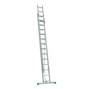 Dvojdielny výsuvný rebrík ovládaný lanom ALVE Eurostyl PROFI