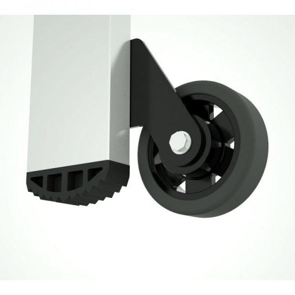 Schodíky jednostranné hliníkové Forte PROFI PLUS