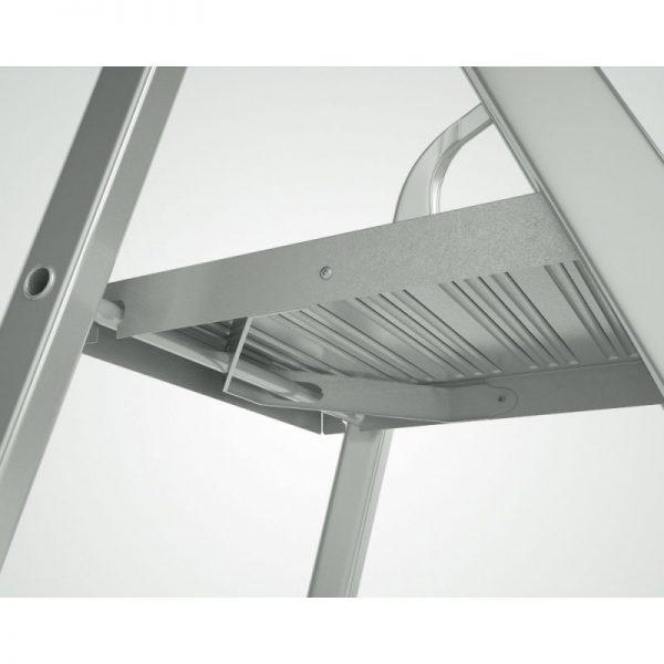 Schodíky jednostranné hliníkové, nosnosť do 120 kg Eurostyl HOBBY