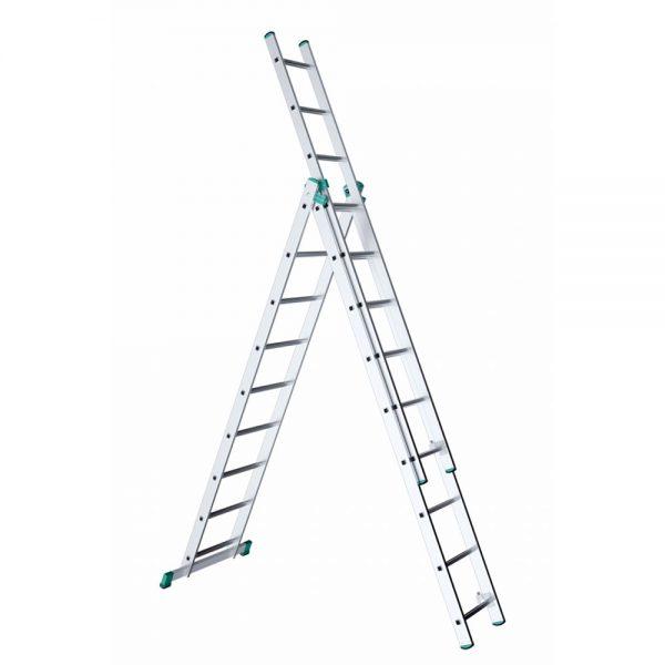 Trojdielny univerzálny rebrík ALVE Eurostyl
